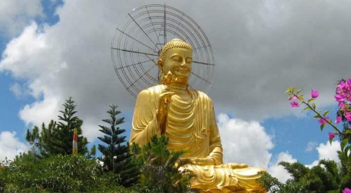 Будда из золота