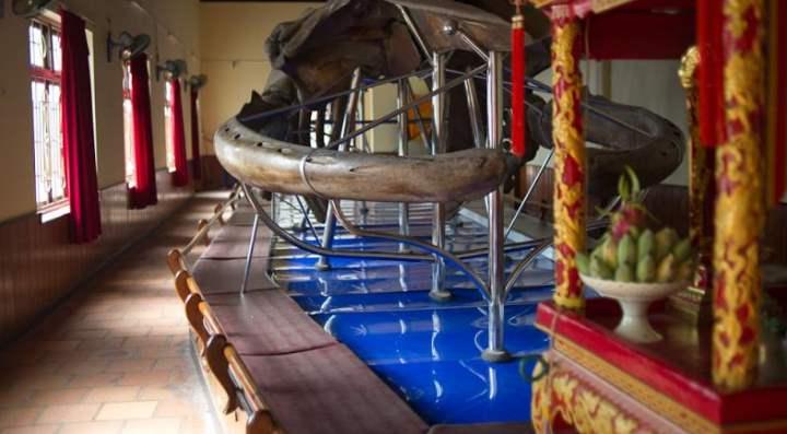 Храм кита – музей, в залах которого хранятся интересные экспонаты