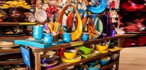 Разноцветные товары Вьетнама