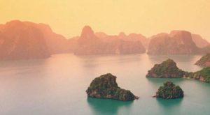 Туман на островах Вьетнама