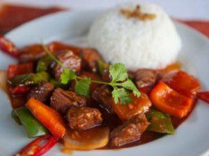 Рис и мясо