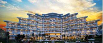 Вид на отель во Вьетнаме