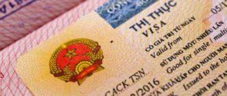 Паспорт с визой