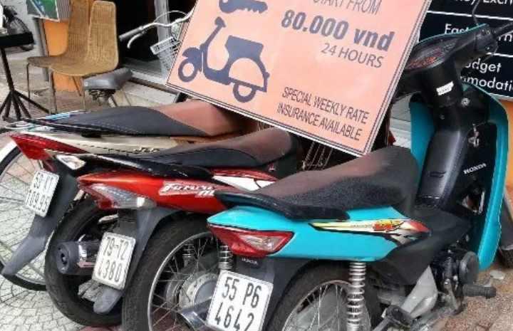 Передвижение на улицах Вьетнама требует огромной концентрации внимания